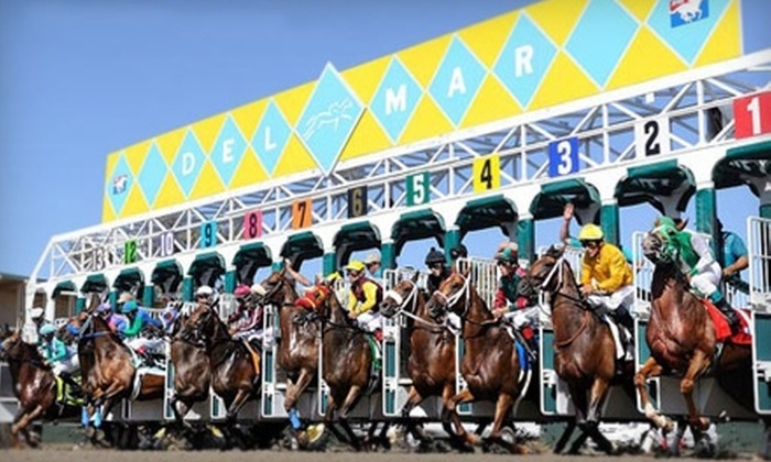 Horseracing Event - Del Mar: $10 for a Horseracing Event for Two at Del Mar Thoroughbred Club ($20 Value)