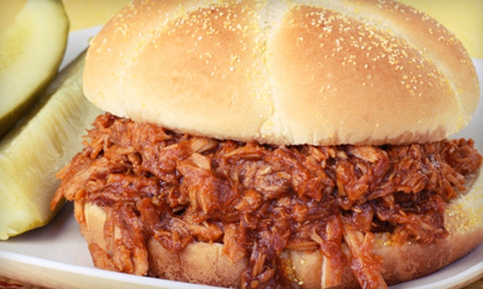 Dat's Good Que - Lewisville: $10 for $20 Worth of Barbecue at Dat's Good Que in Lewisville