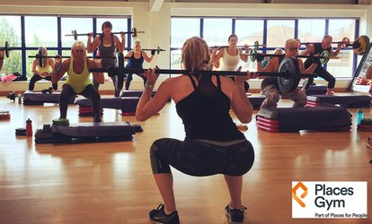 image for Five- or Ten-Day Gym and Fitness Class Pass at Places Gym (Up to 84% Off)