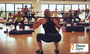 Places Gym: Five- or Ten-Day Gym and Fitness Class Pass at Places Gym (Up to 84% Off)