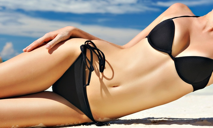Abaco Tan and Nails - Trevaskis: Three Custom Spray Tans or One Month of Unlimited Tanning at Abaco Tan & Nails (Up to 72% Off)