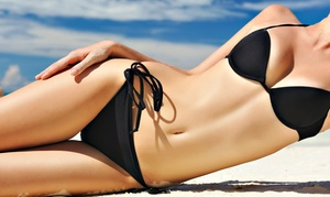 Abaco Tan and Nails: Three Custom Spray Tans or One Month of Unlimited Tanning at Abaco Tan & Nails (Up to 72% Off)