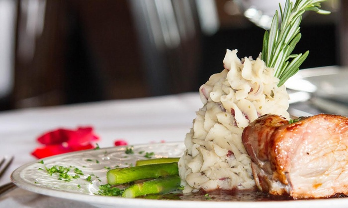 French Restaurant at The Henderson Castle - West Douglas: 7-Course French Tasting Menu for Two or Four at French Restaurant at The Henderson Castle (Up to 49% Off)