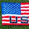 """USA Flag 30""""x60"""" Beach Towel"""