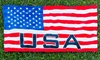 "USA Flag 30""x60"" Beach Towel: USA Flag 30""x60"" Beach Towel"