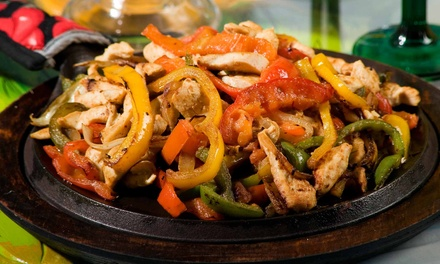 $8.50 for $15 Worth of Tex-Mex Fare and Drinks for Two or More During Lunch at Amigos Original Tex-Mex