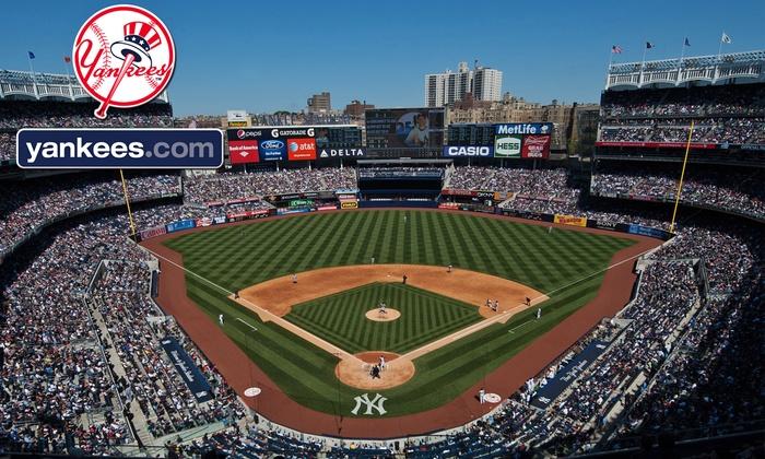 New York Yankees - YANKEE STADIUM: New York Yankees Game at Yankee Stadium (Up to 54% Off). Three Seating Options and Six Games Available.