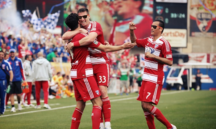 FC Dallas - Toyota Stadium: $19 for FC Dallas Soccer Game with Sunglasses and On-Field Experience on Saturday, May 25 (Up to $62.96 Value)