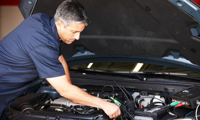 null - Marietta: $49 for Oil and Filter Change with 60-Point Inspection at Aaron's Automotive Service and Repair ($125 Value)
