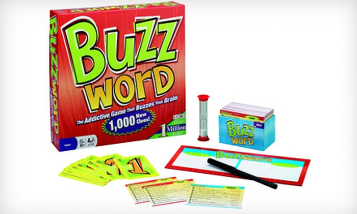 Buzzword the Board Game: $10 for Buzzword the Board Game ($24.99 List Price)