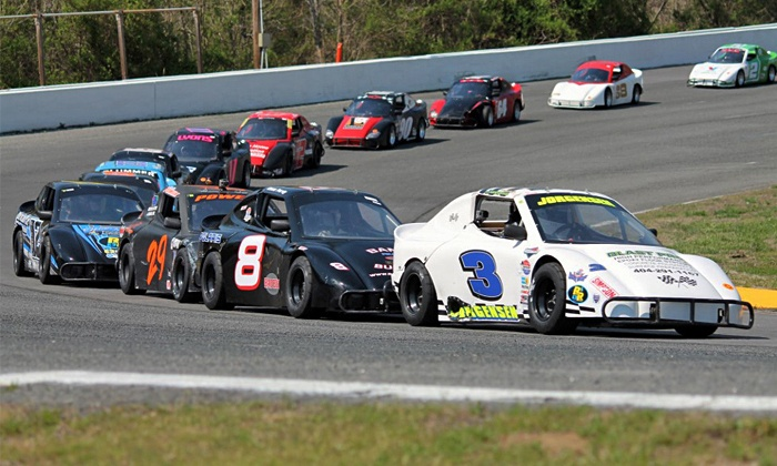 Concord Speedway: Legends and Bandolero Racing - Concord Speedway: Racing Event for Two or Four at Concord Speedway on Sunday, May 18, at 3:45 p.m. (Up to 54% Off)