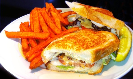 Lunch Pub Food for Two or Four at Your Father's Moustache (Up to 42% Off)