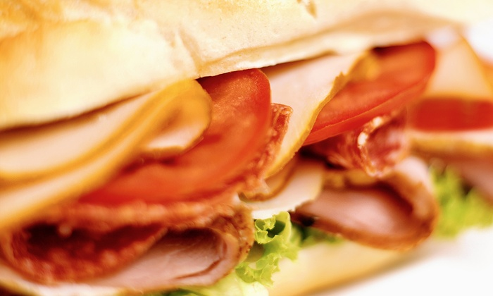 Georgio's Subs - Everett Mall South: Two or Four Groupons, Each Good for a Meal with a 12-Inch Sub, Drink, and Chips at Georgio's Subs (41% Off)
