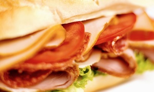 Georgio's Subs: Two or Four Groupons, Each Good for a Meal with a 12-Inch Sub, Drink, and Chips at Georgio's Subs (41% Off)
