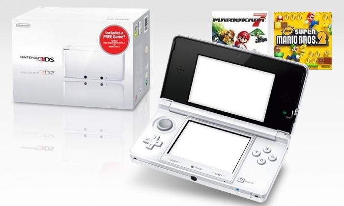 Nintendo 3ds Sd Karte.Nintendo 3ds Mit 2 Gb Sd Karte Und New Super Mario Bros Oder Mario Kart 7 Zum Download Inkl Versand Für 149