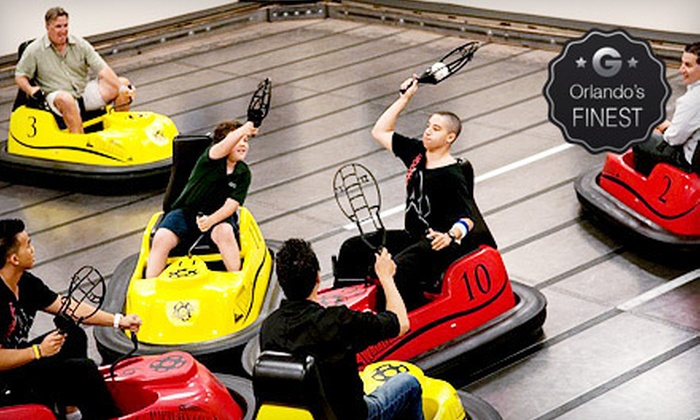 WhirlyDome - Orlando: $99 for 30 Minutes of WhirlyBall for Up to 10 at WhirlyDome (Up to $240 Value)