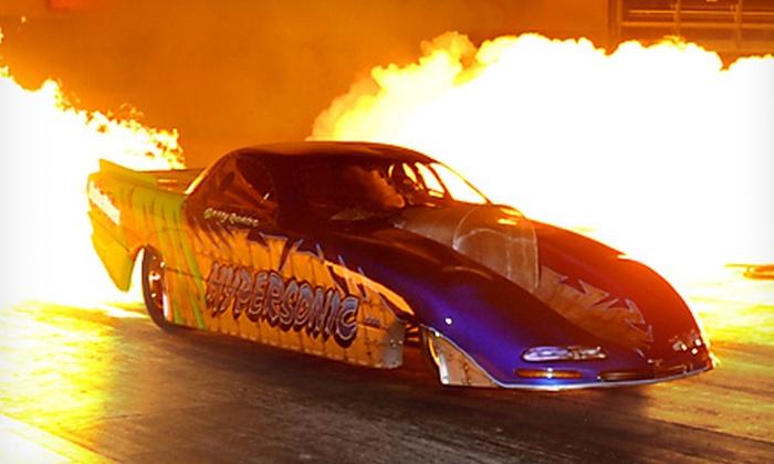 Burndown at Sundown - Route 66 Raceway: $10 for Burndown at Sundown Drag-Racing Event at Route 66 Raceway in Joliet on June 9 ($20 Value)