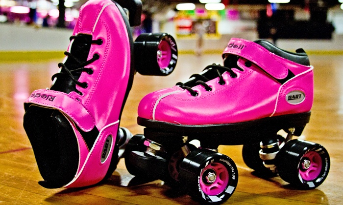 United Skates of America, Inc. Roller Skating - Tampa: Skating with Rentals, Soda, and Glow Sticks for 2 or 4 at United Skates of America, Inc. Roller Skating (Up to 47% Off)
