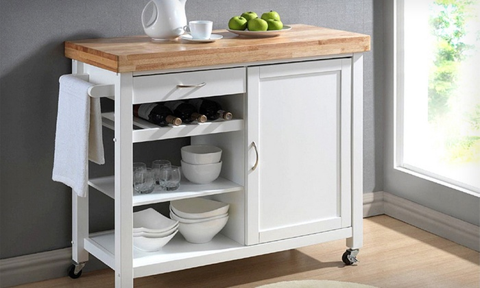 Kitchen Storage Carts | Groupon Goods