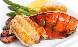 Capt. Marcos Seafood & More: Cuban-Influenced Seafood, Sides, and Desserts at Capt. Marcos Seafood & More (42% Off). Two Options Available.