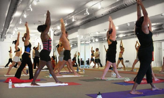 Bikram Yoga Toronto East - West Rouge: 10 or 20 Classes at Bikram Yoga Toronto East (Up to 75% Off)