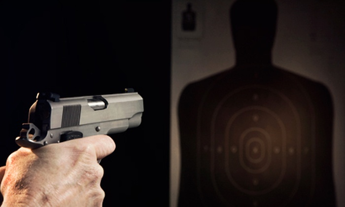Off Duty Armory - Burleson: Shooting-Range Package with Gun Rental and Rounds for One, Two, or Four from Off Duty Armory in Burleson (Up to 63% Off)