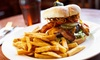 The Iron Horse - Westwood: One or Two Groupons, Each Good for $25 Worth of Burgers and Barbecue at The Iron Horse (Up to 50% Off)
