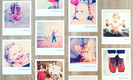 $10 for a Set of 16 Custom Polaroid Wall Decals from Paper Culture ($29.99 Value)