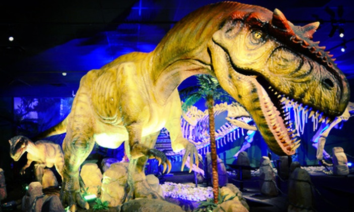 "Witte Museum - Broadway Cultural Corridor: ""Dinosaurs Unearthed"" Exhibit for Two or Four Adults or One Child at Witte Museum (Up to 52% Off)"