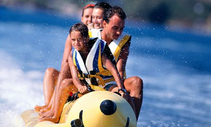 image for 15-Minute Banana Boat Ride for Up to Five at Ride Leisure Events (20% Off)