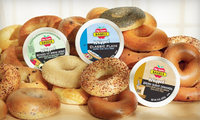 Big Apple Bagels - Reckeweg Road: $6 for $12 Worth of Bagels, Sandwiches, and Beverages at Big Apple Bagels