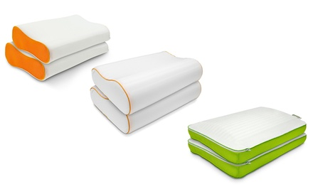 2-Pack of Jelly-Soft Memory Foam Pillows from $39.99–$44.99