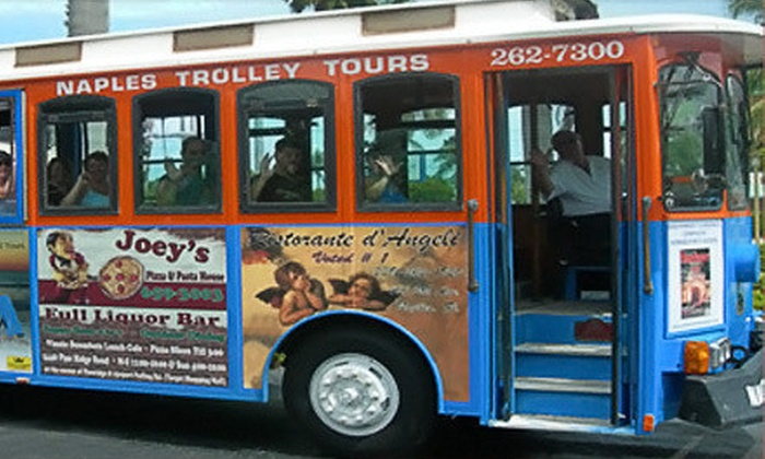 Naples Trolley Tours - Old Naples: $12 for a Two-Hour Hop-On, Hop-Off Trolley Tour from Naples Trolley Tours ($25 Value)