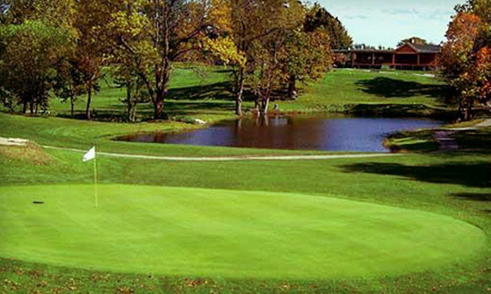 LeRoy Country Club - Le Roy: 18-Hole Round of Golf for Two or Four with Cart Rental at LeRoy Country Club (Up to 53% Off)