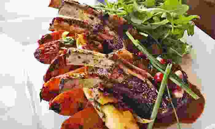 Boubouffe Grille - Belmont Shore: Mediterranean Cuisine and Drinks at Boubouffe Grille (Half Off). Two Options Available.