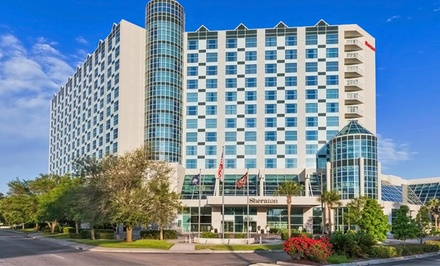 Stay at Sheraton Myrtle Beach Convention Center Hotel in Myrtle Beach, SC. Dates Available into June.