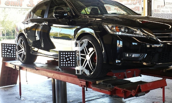 Sts Auto Sales And Repair - West Columbia: Wheel Alignment at STS Auto Sales & Repair (50% Off)