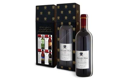 1x oder 2x 3D-Weinbuch in form einer Weinflasche (Munchen)