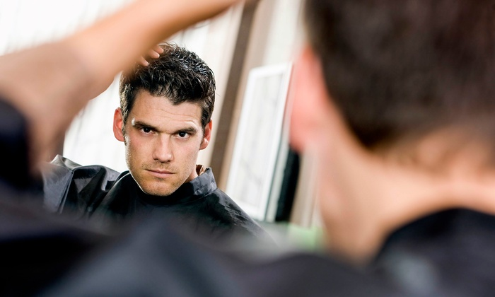 18|8 Fine Men's Salons - Lake Forest: Executive Haircuts at 18|8 Fine Men's Salons (Up to 57% Off). Three Options Available.