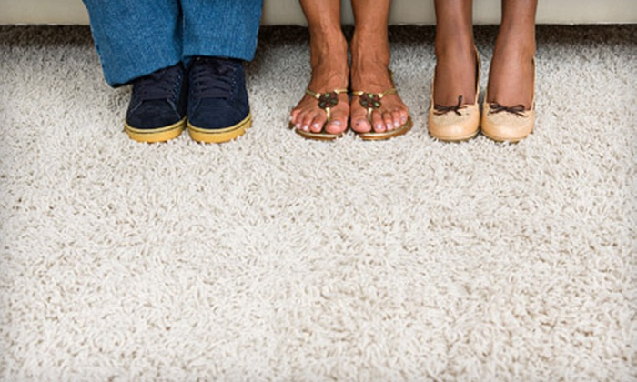 KDB Enterprises - Hampton Roads: Carpet Steam Cleaning for Seven Rooms, or Three Rooms and One Hallway from KDB Enterprises (Up to 54% Off)