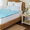 Pure Rest Marbleized Gel Memory-Foam Mattress Toppers