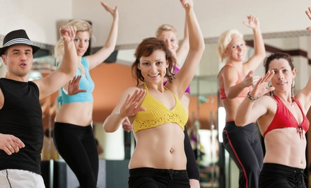 5 or 10 Zumba Classes at Zumba With Carmen (Up to 63% Off)