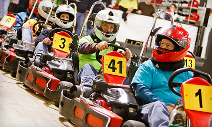 G-Force Karts - Richmond: Three Sessions of Paintball, Laser Tag, or Adult or Junior Go-Kart Racing at G-Force Karts (Up to 59% Off)