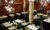 Stadt Restaurant im Reichshof Hamburg - Hamburg: Exklusives 3-Gänge-Gourmetmenü mit Aperitif für 1 oder 2 Personen im Stadt Restaurant im Reichshof Hamburg