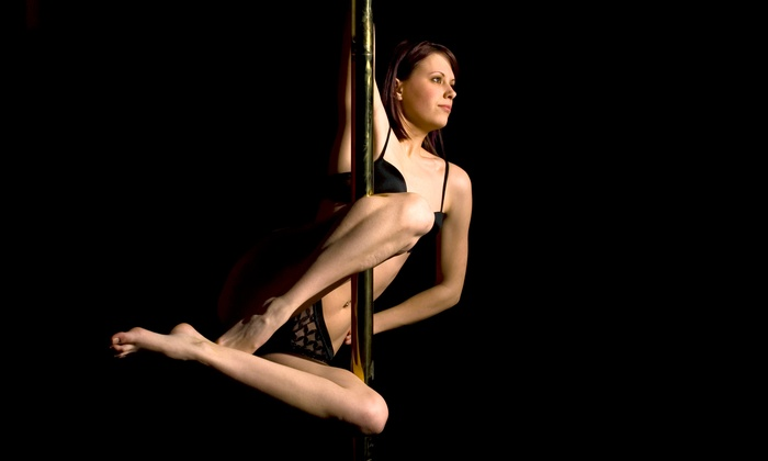 Pole Kinect Studio - Pilsen: 1 Pole-Dancing Class for Two, 10 Classes for One, or a Party Package at Pole Kinect Studio (Up to 54% Off)