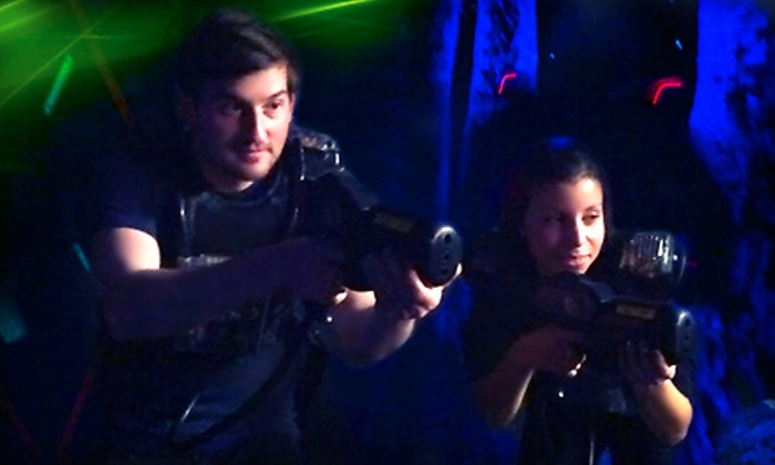 United Skates of America - Wickliffe: Three Rounds of Laser Tag for 2, 5, 10, or 20 People at United Skates of America (Up to 58% Off)