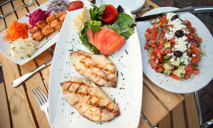 Bosphorus Cafe Grill - Manorhaven: Turkish and Mediterranean Cuisine During Dinner, Lunch, or Brunch at Bosphorus Cafe Grill (Up to 44% Off)