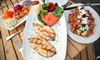Bosphorus Cafe Grill - Manorhaven: Turkish and Mediterranean Cuisine During Dinner or Lunch at Bosphorus Cafe Grill (Up to 50% Off)