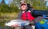 AlaskaFishingService - Alaska Fishing Service: Full-Day Fishing Trip for Two or Three at Alaska Fishing Service (Half Off)