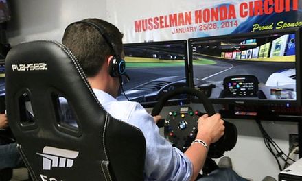 i-Racing Simulator for One, Two, or Four at Musselman Honda Circuit (Up to 55% Off)